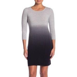 Dresses & Skirts - SIGRID OLSEN 3/4 Sleeve Ombre Cashmere Dress SMALL